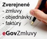 Zverejnené zmluvy, faktúry, objednávky