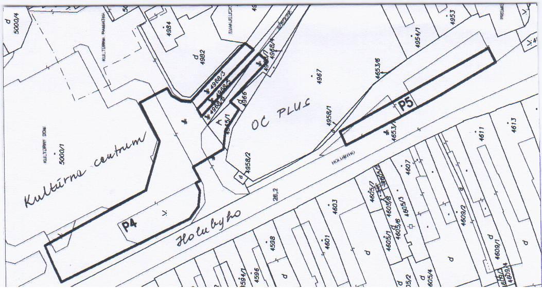 parkovacia zóna P4 a P5